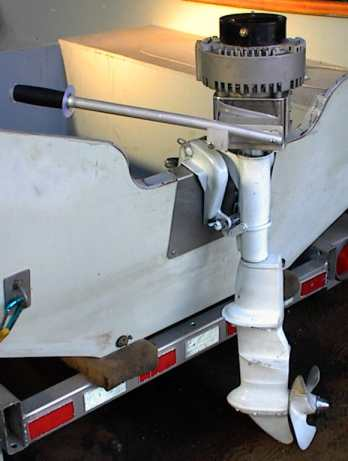 Diy electric boat conversion for Electric outboard motor conversion
